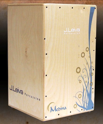 [51CAJ120 Leiva Medina cajon in natural finish]