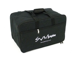 [Padded Cajon Carrying Bag - Rucksack Style - With Shoulder & Carrying Straps]